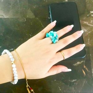 Jewelry - Amazonite Elastic Ring